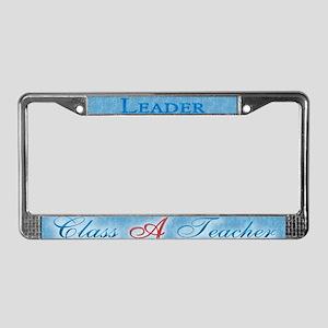 Class A Teacher License Plate Frame