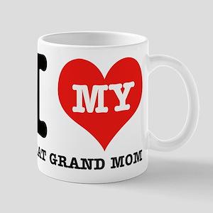 I Love My Great Grand Mom Mug