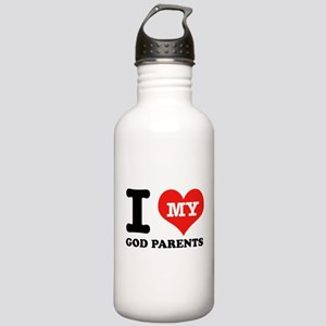 I Love My God Parents Stainless Water Bottle 1.0L
