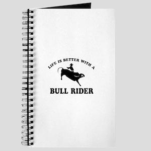 Bull Rider vector designs Journal