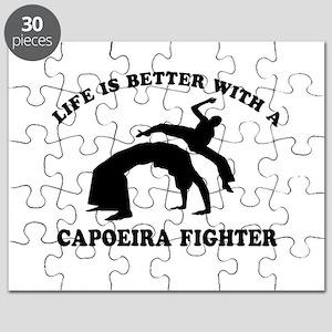 Capoeira Fighter vector designs Puzzle