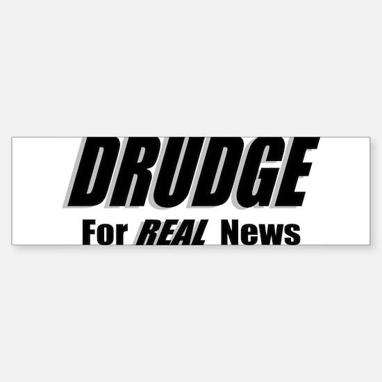 DRUDGE News Bumper Bumper Bumper Sticker