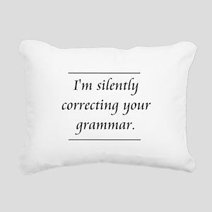 I'm Silently Correcting Your Grammar Rectangular C