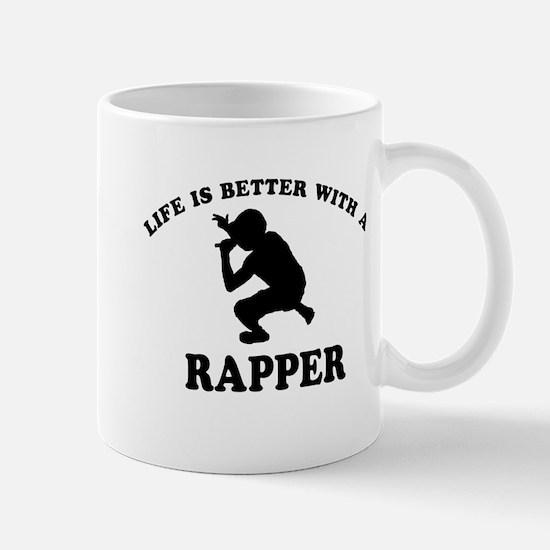 Rapper vector designs Mug
