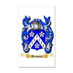 Brewster Rectangle Car Magnet