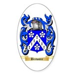 Brewster Sticker (Oval 50 pk)