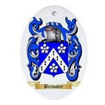 Brewster Ornament (Oval)