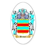 Brewer Sticker (Oval 10 pk)