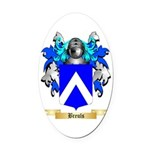 Breuls Oval Car Magnet