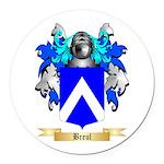 Breul Round Car Magnet