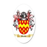 Brettle Oval Car Magnet