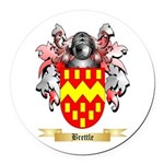 Brettle Round Car Magnet