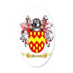 Brettell Oval Car Magnet