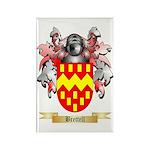 Brettell Rectangle Magnet (100 pack)