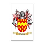 Bretonel Rectangle Car Magnet