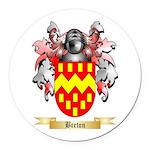 Breton Round Car Magnet