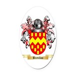 Bretillon Oval Car Magnet
