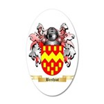 Brethiot 20x12 Oval Wall Decal