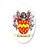 Brethiot 35x21 Oval Wall Decal
