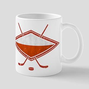 Polski Hokej Na Lodzie Flag Mug