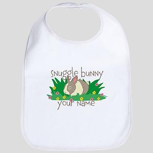 Personalized Snuggle Bunny Bib