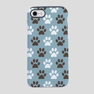 Paw Print Pattern iPhone 7 Tough Case