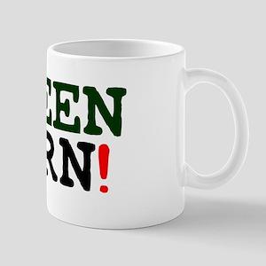 GREENHORN! Small Mug