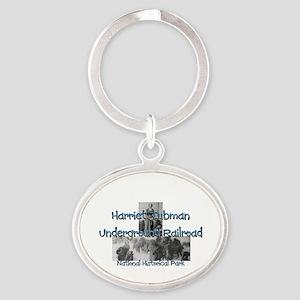 ABH Harriet Tubman NM Oval Keychain