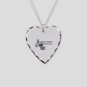 ABH Harriet Tubman Necklace Heart Charm