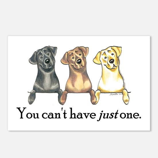 Just One Lab Postcards (Package of 8)
