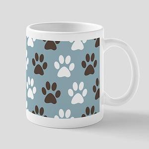 Paw Print Pattern Mugs