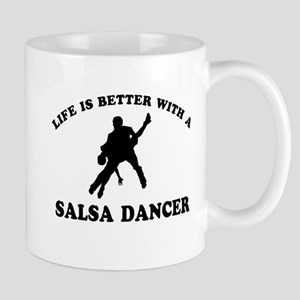 Salsa Dancer vector designs Mug