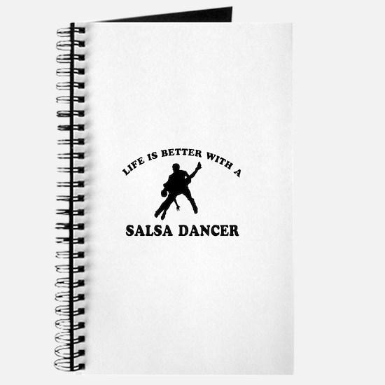 Salsa Dancer vector designs Journal