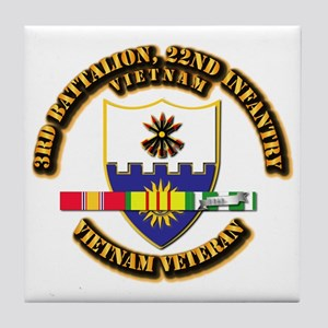 Army - 3rd Battalion, 22nd Infantry w SVC Ribbons