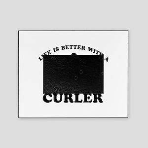 Curler vector designs Picture Frame