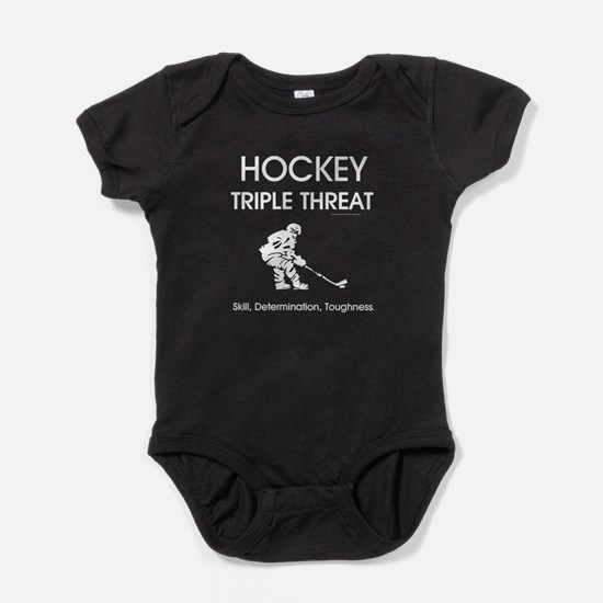 TOP Ice Hockey Slogan Baby Bodysuit