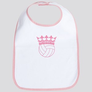 Volleyball Princess Bib