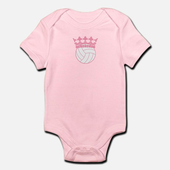 Volleyball Princess Baby Body Suit