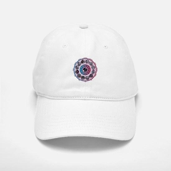 Starlight Zodiac Wheel Baseball Baseball Cap