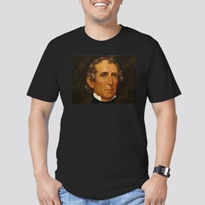 John Tyler Men's Fitted T-Shirt (dark)