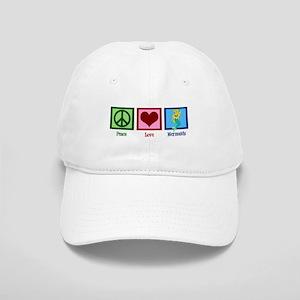 Peace Love Mermaids Cap