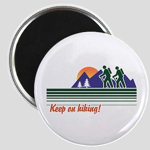 Keep on Hiking Magnet
