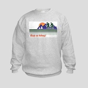 Keep on Hiking Kids Sweatshirt