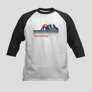 Keep on Hiking Kids Baseball Jersey