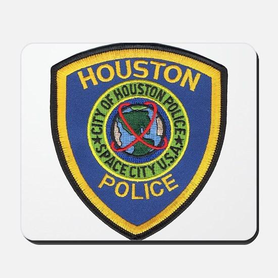 Houston Police Mousepad