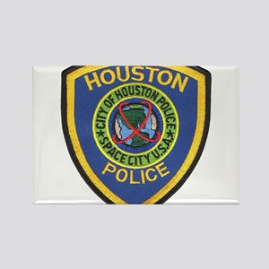 Houston Police Rectangle Magnet (10 pack)