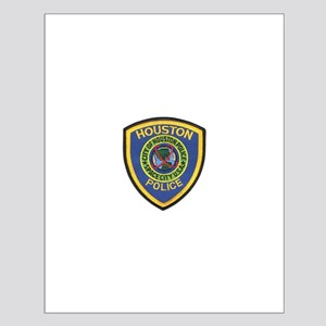 Houston Police Small Poster