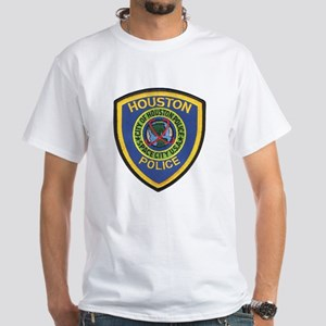 Houston Police White T-Shirt