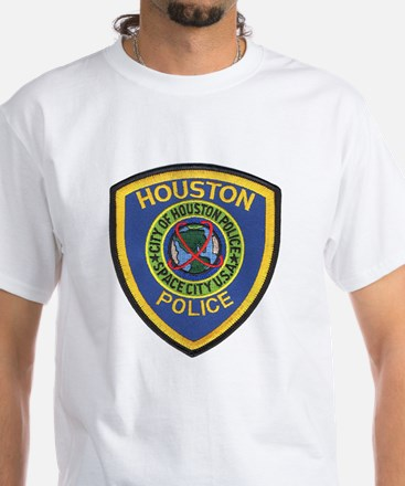 Houston Police White T-Shirt