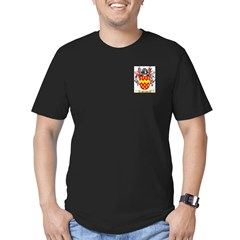 Bretaud Men's Fitted T-Shirt (dark)